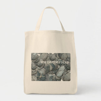 Life on the Rocks Grocery Tote Bag