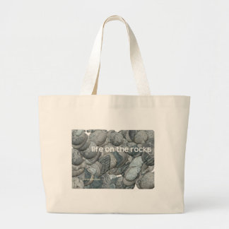 Life on the Rocks Jumbo Tote Bag
