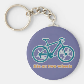 life on wheels - bikes key chain