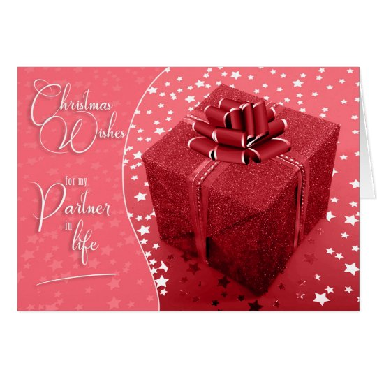 Life Partner Pink and White Christmas Gift of