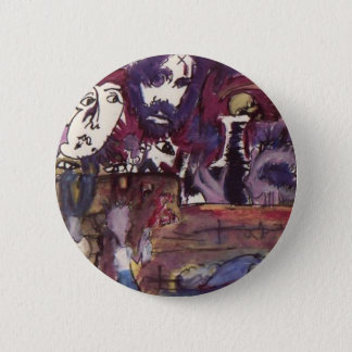 Life past before my eyes and now I'm over it 6 Cm Round Badge