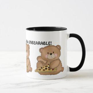 Life Pizza coffee bear mug