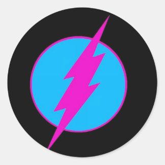 "life-power chruch ""flash logo"" sticker sheet!"