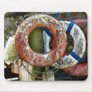 Life Preserver Rings Mouse Pad