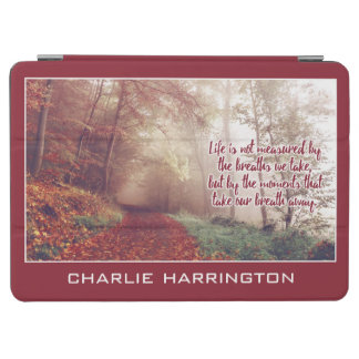 Life Quote custom name device covers iPad Air Cover