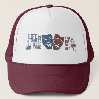 LIFE quote hat - choose color