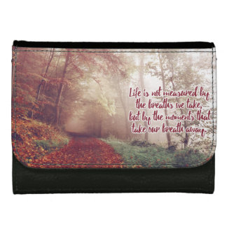 Life Quote wallet