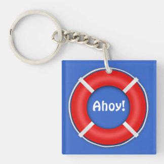 Life Ring Key Chain