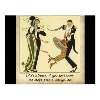 Life s a Dance Postcard