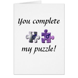 Life s Puzzle Greeting Card