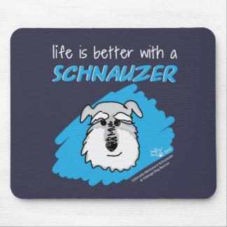 Life... Schnauzer - Mouse Pad