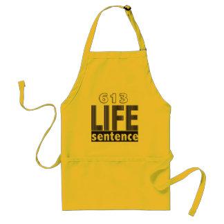 Life Sentence Standard Apron