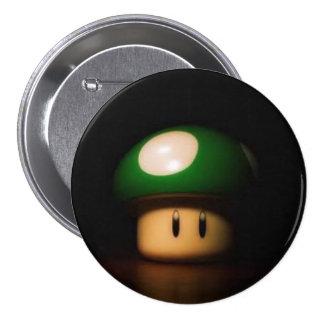 Life Shroom 7.5 Cm Round Badge