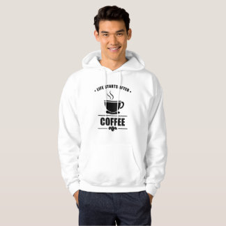 Life Starts After COFFEE Hoodie
