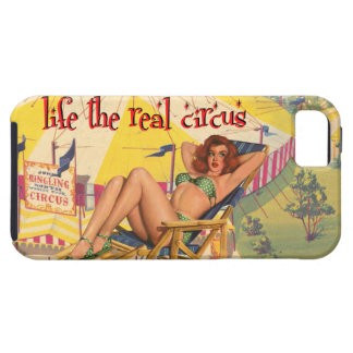 Life the Real Circus Pinup Girl | iphone case