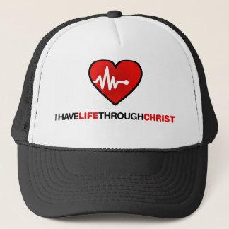 Life trough Christ Trucker Hat