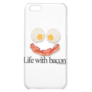 Life with Bacon iPhone 5C Covers