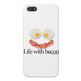 Life with Bacon iPhone 5 Cover