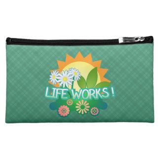 Life Works! Medium Cosmetic Bag