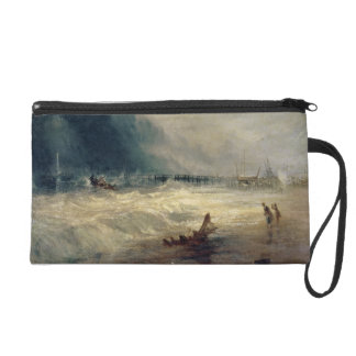 Lifeboat and Manby Apparatus going off to a strand Wristlet Clutch