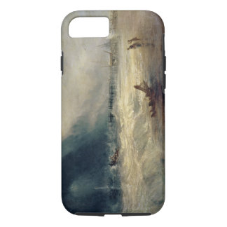Lifeboat and Manby Apparatus going off to a strand iPhone 7 Case