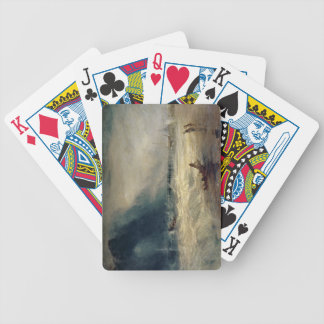 Lifeboat and Manby Apparatus going off to a strand Bicycle Playing Cards