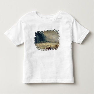 Lifeboat and Manby Apparatus going off to a strand Toddler T-Shirt