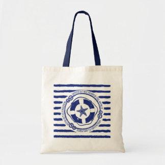 Lifebuoy And Starfish Tote Bag