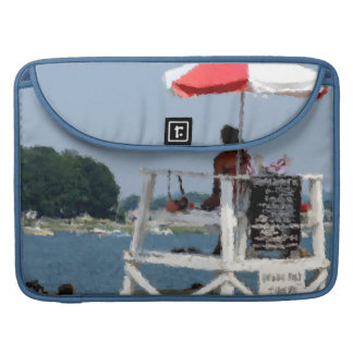 Lifeguard Beach MacBook Pro Sleeve