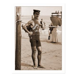 Lifeguard Brighton Beach 1905 Post Cards