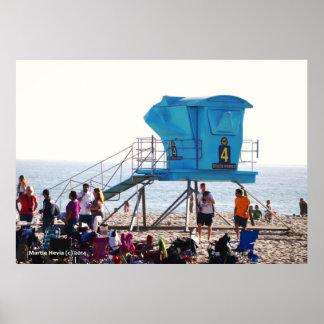 Lifeguard House Print