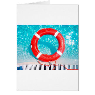 Lifeguard Lifesaver Card