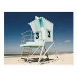 Lifeguard Stand | San Diego, Ca Postcard