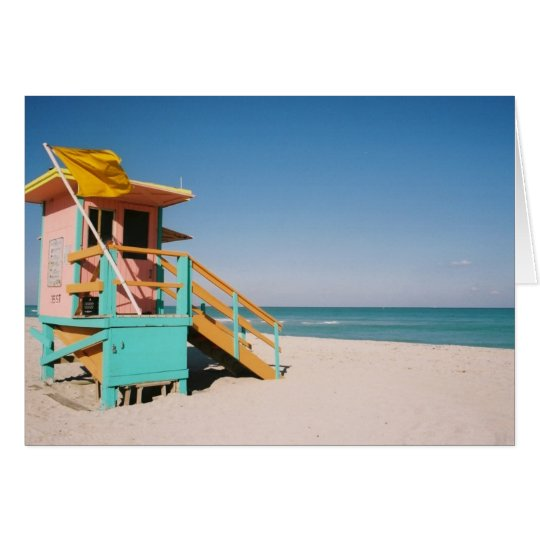 Lifeguard Tower 1 Card