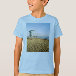 Lifeguard Tower in Santa Cruz T-Shirt