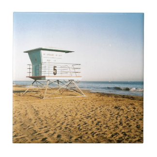 Lifeguard Tower in Santa Cruz Tile