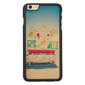 Lifeguard Tower   South Beach, Miami Carved Maple iPhone 6 Plus Case