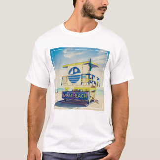 Lifeguard Tower | South Beach, Miami, Fl T-Shirt