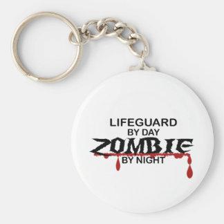 Lifeguard Zombie Basic Round Button Key Ring
