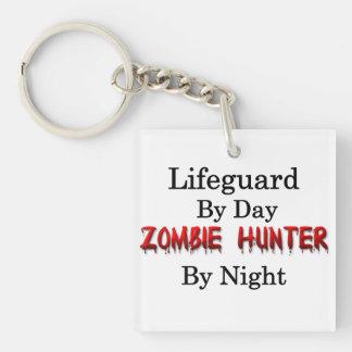 Lifeguard Zombie Hunter Keychain