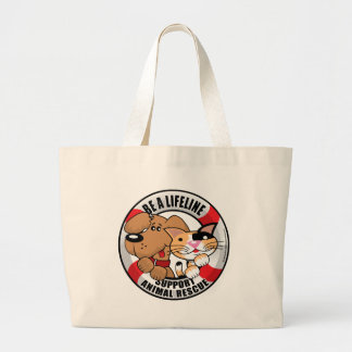 Lifeline Support Amimal Rescue Canvas Bag