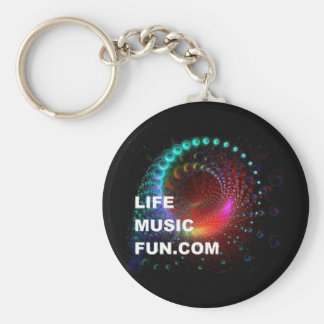 LifeMusicFun Keychain