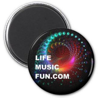 LifeMusicFun Magnet