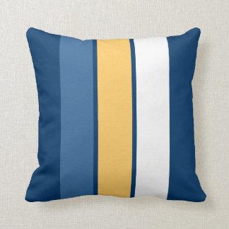 Life's A Beach 3 Stripe Throw Pillow Throw Cushion