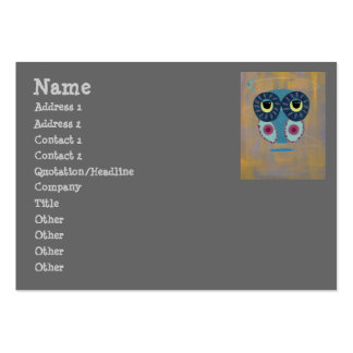 Life's A Boomerang Owl Large Business Cards (Pack Of 100)