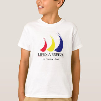 Life's a Breeze®_Paint-The-Wind_Paradise Island T-Shirt
