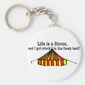 Life's a Circus Key Ring