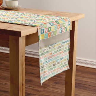 Life's A Picnic Soft Taupe Table Runner