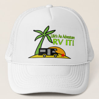 Life's An Adventure So RV It Trucker Hat