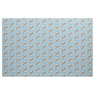 Life's Better Jack Russell Terrier Fabric